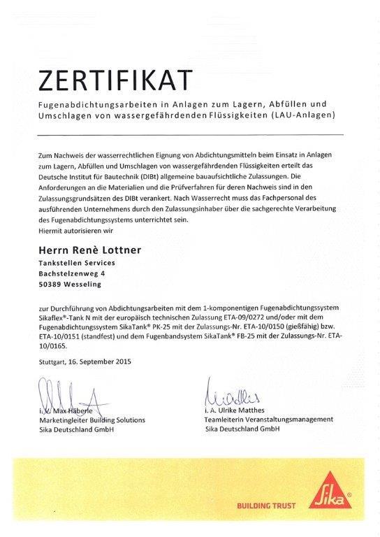 Zertifikat Rene_SIKA_1