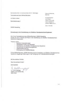 Zertifikat Rene_SIKA_4