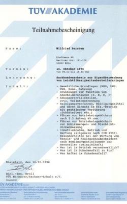 Zertifikat Wilfried_Abscheider_1996