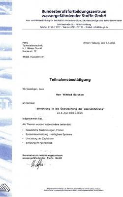 Zertifikat Wilfried_Bundesfortbildungszentrum_2003