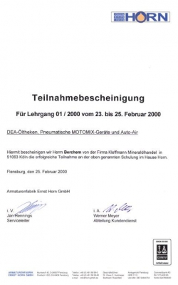 Zertifikat Wilfried_Horn_2000